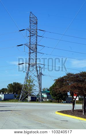 Tower for Power Lines