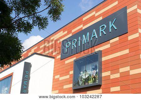 Primark Shop In Chelmsford England