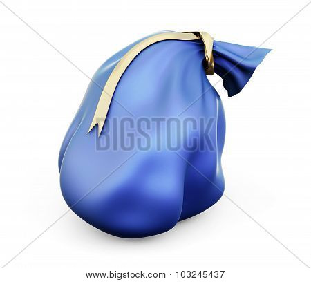 Christmas Blue Bag