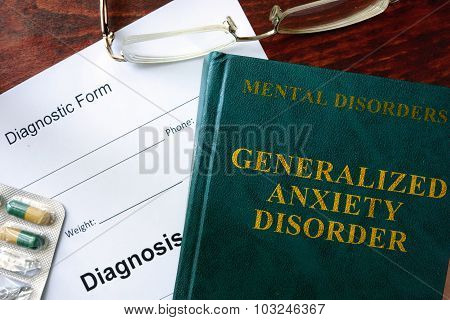 Generalized anxiety disorder concept.