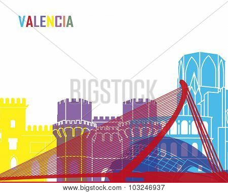 Valencia Skyline Pop