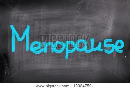 Menopause Concept