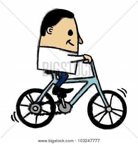 Cycling Man