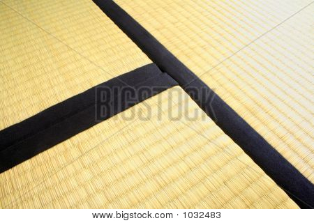 Detail Of Three Tatami Mats