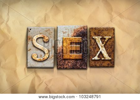 Sex Concept Rusted Metal Type