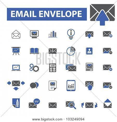 email marketing, envelope icons