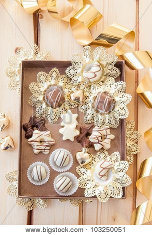 Chocolates And Truffles For Christmas