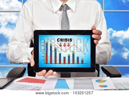 Touch Pad With Crisis Chart