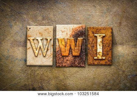 Wwi Concept Letterpress Leather Theme