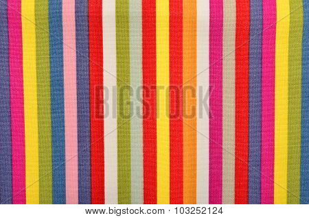 Colorful Striped Background.