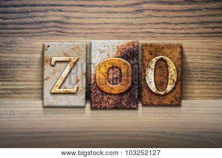Zoo Concept Letterpress Theme