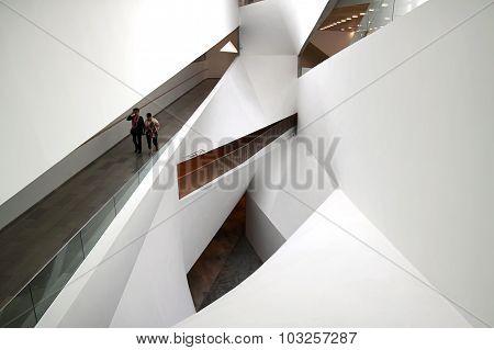The Interior Of The Museum Of Art, Tel Aviv
