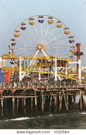 Ferris Wheel, Santa Monica Pier