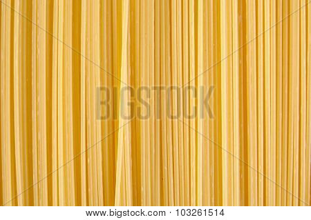 Background Made Of Raw Pasta Stacked Vertically