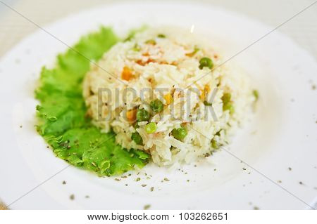 Spring Risotto with Vegetables