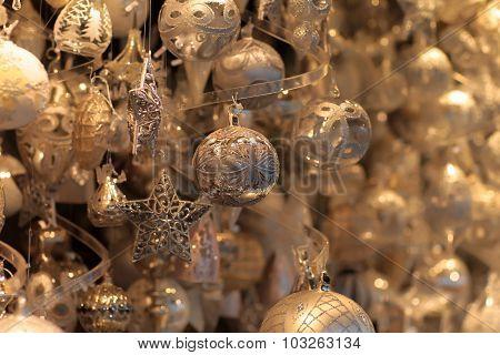 Glittery Christmas Decorations