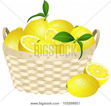LLemons in a basket