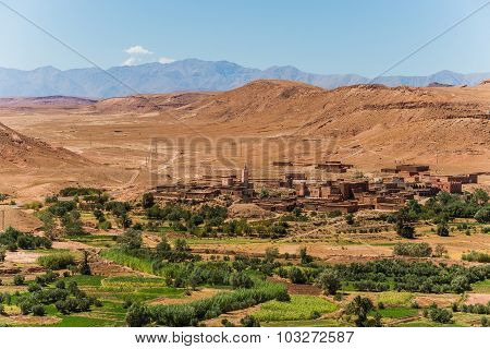 Ait Ben Haddou In Morocco - Famous Filmset For E.g. Gladiator