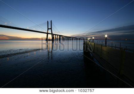 Bridge An Sunrise