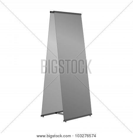 pillar stand placard banner billboard poster ad