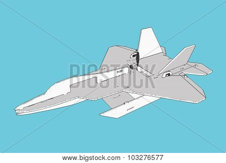 F22 Rc Plane Model