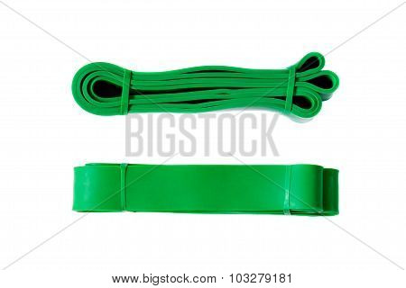 Latex power resistance band
