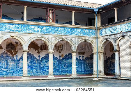 BAHIA, BRAZIL - CIRCA NOV 2014: The Monastery of Sao Francisco in Salvador, Bahia, Brazil