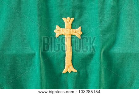 Cross On Cloth
