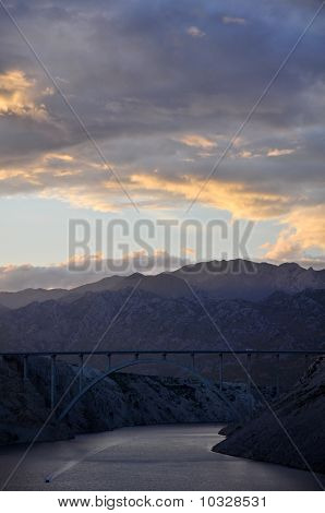 Maslenica highway