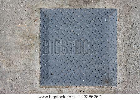 Metal Steel Menhole