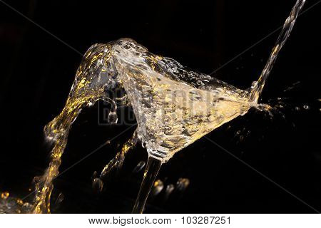 Pouring Beverage