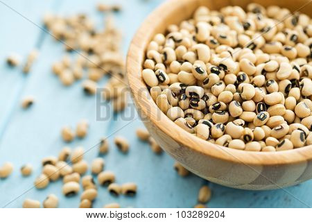 uncooked beans in a bowl