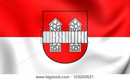 Flag Of Innsbruck City (tirol), Austria.