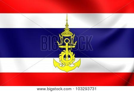 Naval Jack Of Thailand