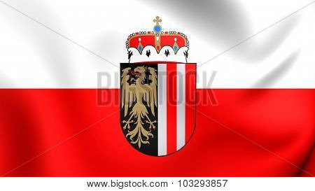 Flag Of Upper Austria