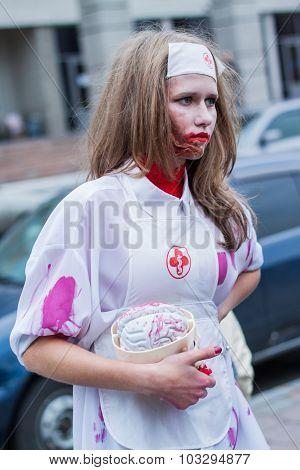 Zombie parade.