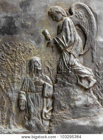Christ And An Angel