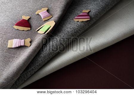 Thread And Kraft Card Bobbin