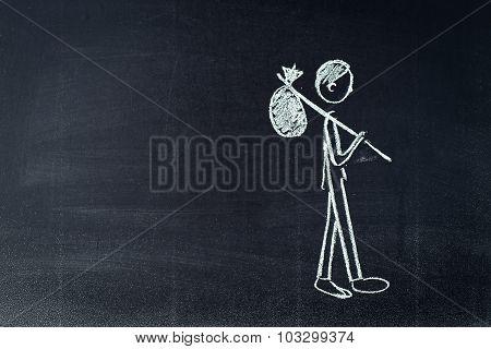 Unemployment sketch