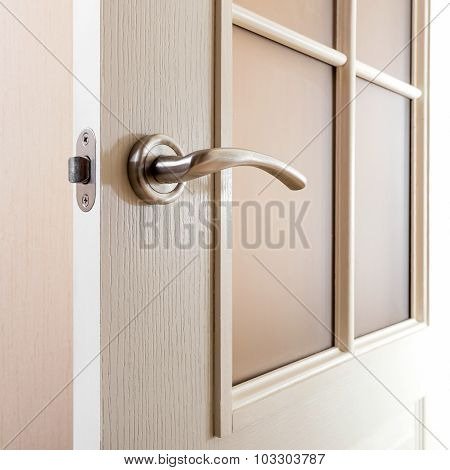 Detail Of Door Handle