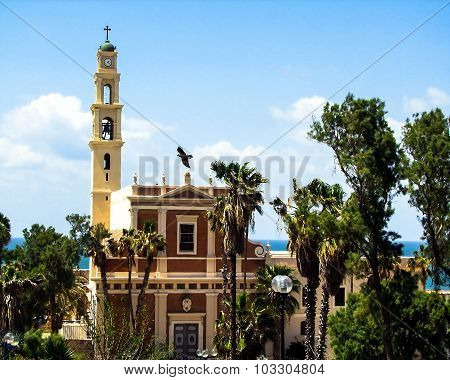Franciscan St. Peter's Church In Jaffa, Part Of Tel Aviv,