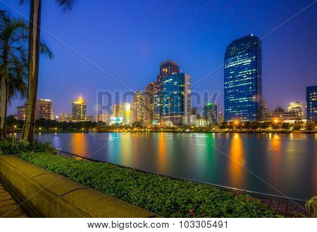 Bangkok City Downtown Thailand