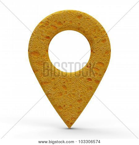 Sponge Map Pointer