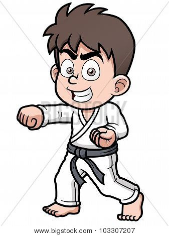 Karate Player