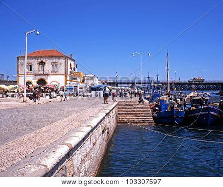 Portimao harbour, Portugal.