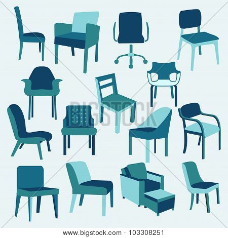 Et Icons Of Chairs Interior Furniture Collection