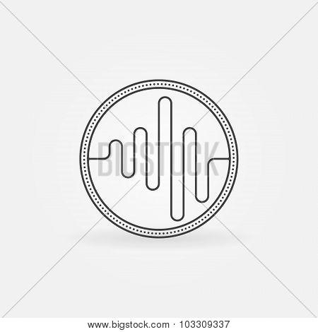Sound logo or icon