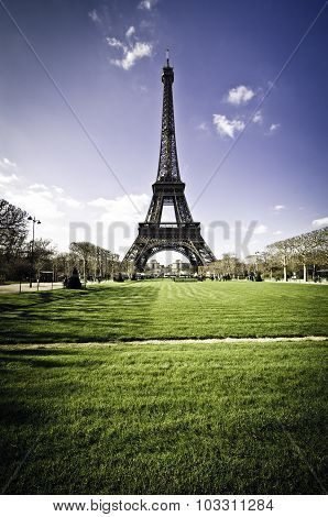 Eiffel Tower , Paris