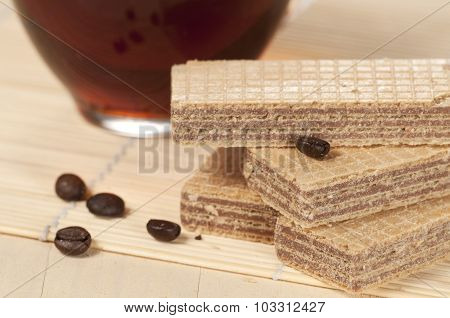Sandwiched Wafers