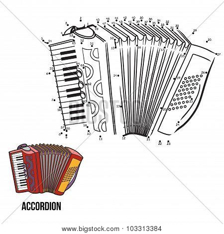 Numbers Game: Musical Instruments (accordion)